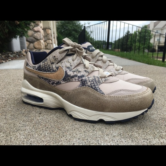 Nike Air Max 94 Newsprint Snakeskin Men AT8439 001 NWT